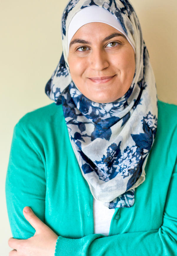 """Sawsan Abu Farha, a Palestinian-Jordanian food blogger known as """"Chef in Disguise,"""" makes several versions of <em>maamoul, </em>usually<em> </em>to be served during Eid with Arabic coffee and chocolate."""