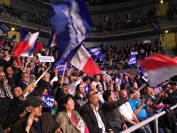Marine Le Pen's skeptic stance on the EU is an unlikely vote-winner in France, and especially near the eastern border where the EU is still popular. But even there Le Pen has some supporters.