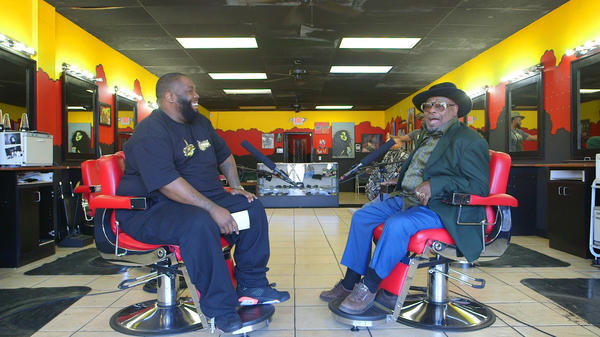 Killer Mike and George Clinton talk barbering, music and history in The SWAG Shop in Atlanta.