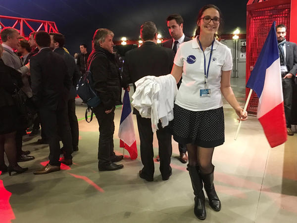 "Manon Bouquin, a 24-year-old supporter of Marine Le Pen, describes the far-right presidential candidate as ""strong, charismatic, powerful, brave,"" characteristics she says are usually attributed to men."