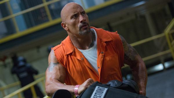 Dwayne Johnson stars as Hobbs in <em>The Fate of the Furious.</em>