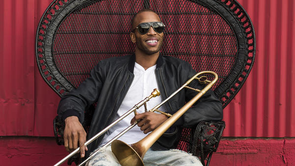 Trombone Shorty's new album, <em>Parking Lot Symphony</em>, comes out April 28.