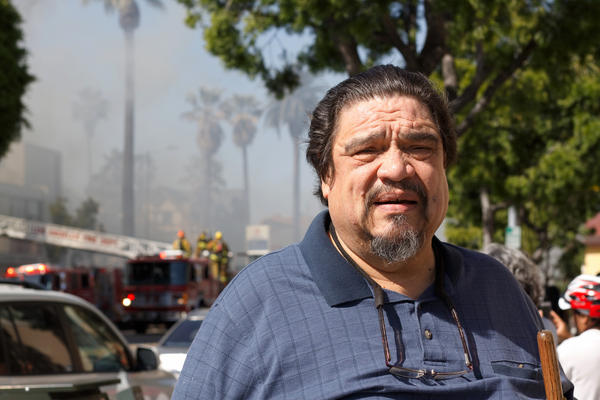 Former City Councilman Mike Hernandez visits the Pico-Union neighborhood of Los Angeles 25 years after the riots.