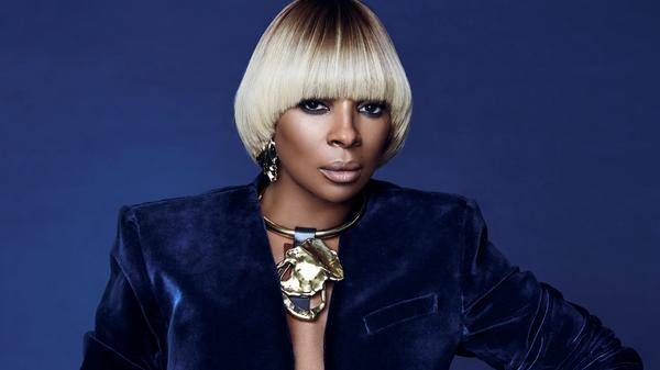 """It's a responsibility being Mary J. Blige,"" the singer says."