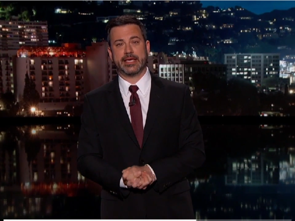"""In an emotional monologue, Jimmy Kimmel disclosed his infant son's heart defects and asked Americans to put politics aside when it comes to health care. """"There are no teams,"""" he said. """"We are the team. ... We need to take care of each other."""""""