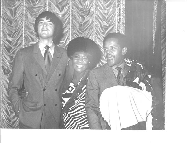 Jimmy Webb (left), Thelma Houston (center) and Marc Gordon. (Courtesy of Thelma Houston)