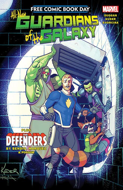 <em>Guardians of the Galaxy/The Defenders</em>