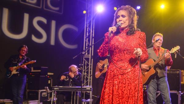 Loretta Lynn, seen here performing at SXSW 2016<em></em>, suffered a stroke Thursday night.<em></em>