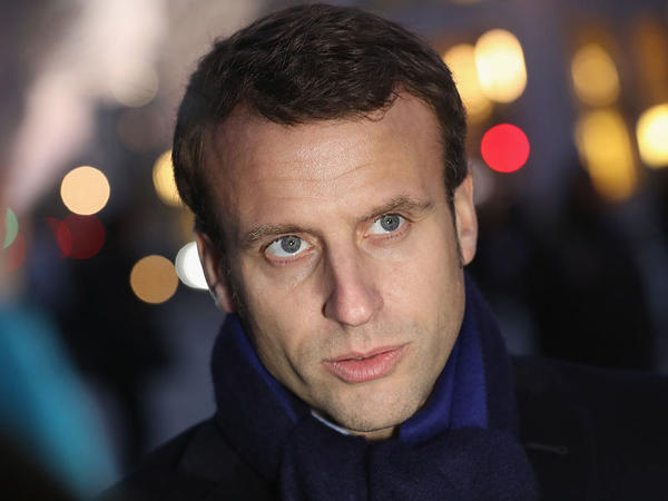 Incoming French president Emmanuel Macron, photographed in Berlin in January 2017.