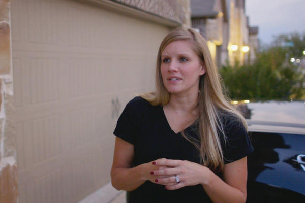 Nicole Humphrey is opposed to a new affordable housing development near the McKinney and Frisco suburbs of Dallas. She and other neighbors have said they worry about traffic and school overcrowding.
