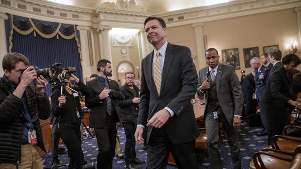 James Comey's March 20 testimony on Capitol Hill contradicted some of the president's positions. It was the first time he publicly acknowledged the FBI investigation into possible ties between Trump associates and Russia.
