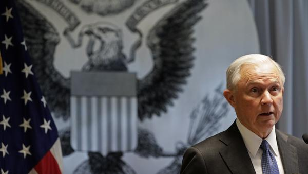 Attorney General Jeff Sessions is interviewing potential candidates for interim FBI director Wednesday, despite his pledge to recuse himself from Trump campaign-related FBI investigations.