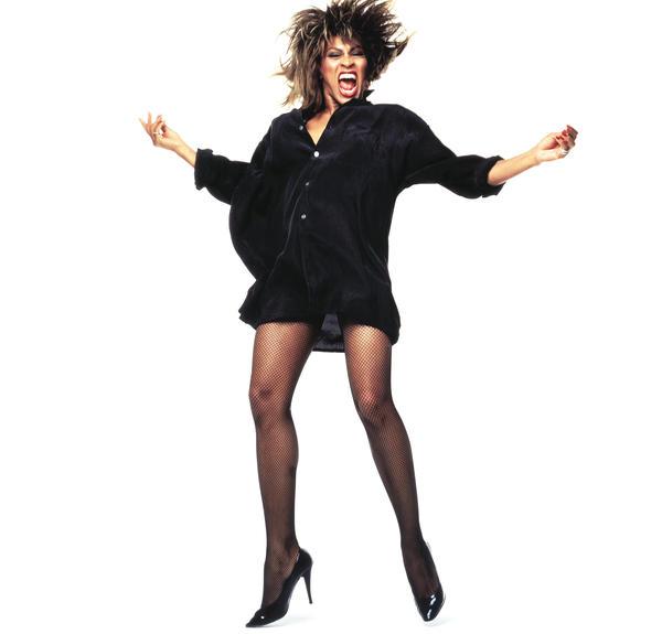 Tina Turner, photographed for <em>Rolling Stone</em> in 1984.