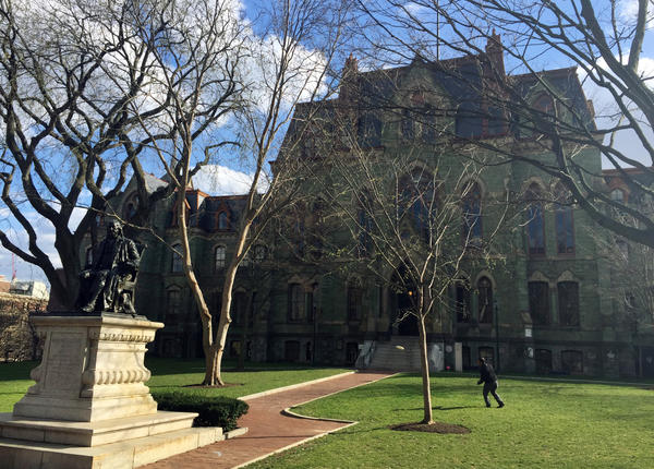 "Last month, flyers at the University of Pennsylvania blared ""Imagine a Muslim-free America."""