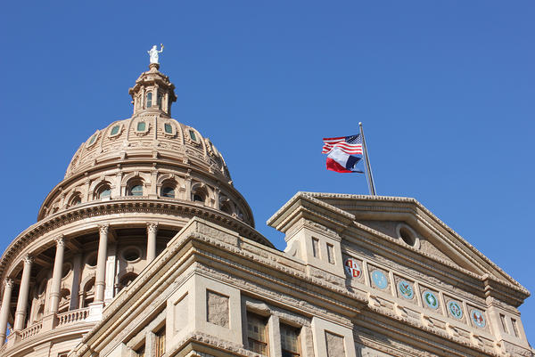 Texas State Capitol in Austin.