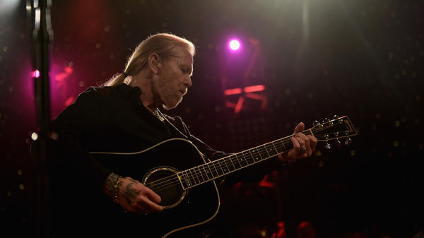 Gregg Allman performs at The Fox Theatre in January 2014, in Atlanta, Ga.
