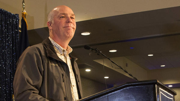 Republican Greg Gianforte speaks to supporters after being declared the winner of Montana's special election. Was his assault on a journalist a turning point?
