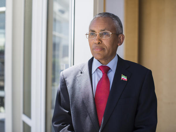 """The only thing that's missing is the sovereign recognition,"" says Saad Ali Shire, foreign minister of Somaliland."