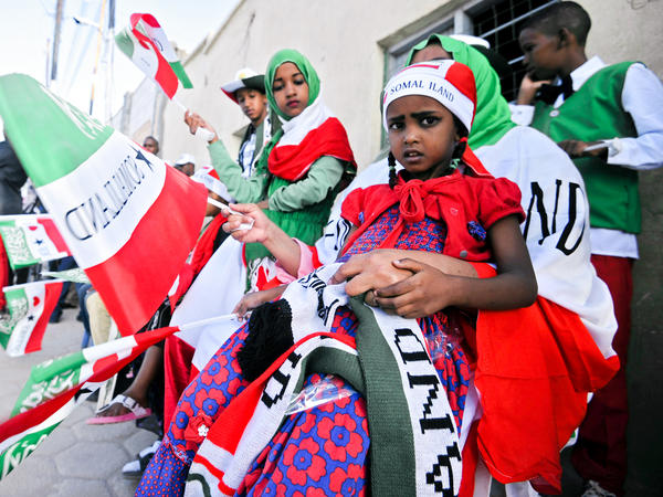 Somaliland celebrated the 25th anniversary of its declaration of independence with a parade in the capital city of Hargeisa on May 18, 2016.