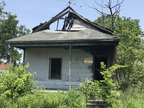 Many properties in Cairo, Ill., are abandoned or condemned, leading to questions about where people in the projects will move. Bids on this house start at $640. There hasn't been a new, private home built in Cairo for 50 years.