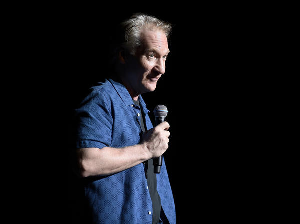 Late night host Bill Maher, at a New York City comedy festival in November, is taking heat for using the N-word on his HBO show <em>Real Time</em> on Friday.