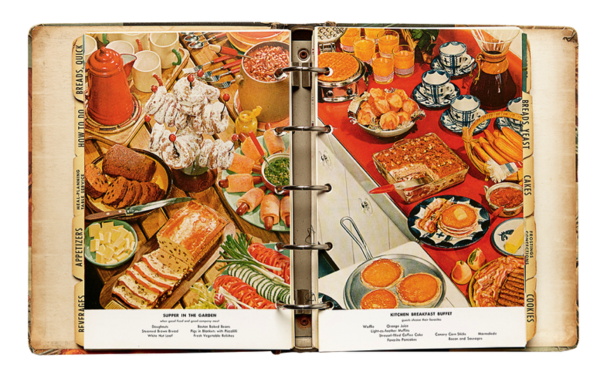 Photographers unknown, pages from Betty Crocker's Picture Cookbook, 1954