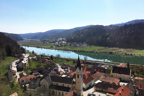 """The first lady, born Melanija Knavs, is from the town of Sevnica in central Slovenia. Before 2016, it was known for its underwear factory, salami festival and sport fishing. """"Melania put us on the world map,"""" says Mayor Srecko Ocvirk, who has helped lead a Melania-themed campaign to attract more tourists here."""