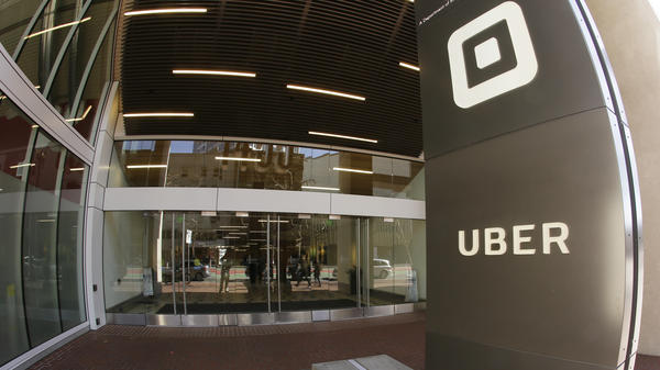 Uber's San Francisco headquarters earlier this year. The company fired 20 employees after an investigation of sexual harassment and other complaints.