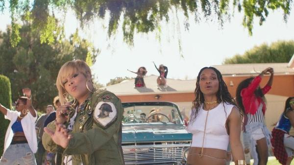 "A still from TLC's ""Way Back"" video."