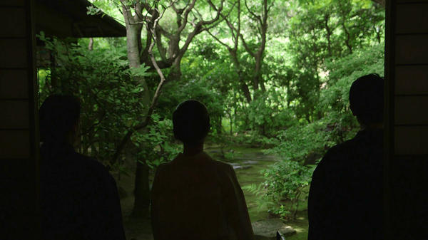 Tea ceremony participants in Kyoto, Japan from <em>In Pursuit of Silence.</em>