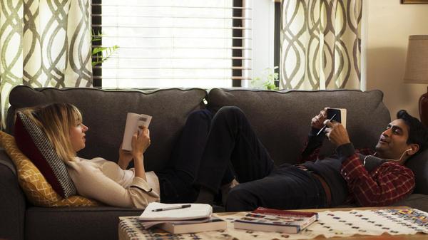 Zoe Kazan stars alongside Kumail Nanjiani in <em>The Big Sick</em>.