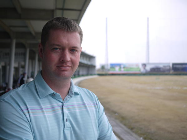 Gareth Winslow is head coach at Shanghai's Junior Golf Academy. He is the former coach of China's national women's team. He says promoting golf in the current political environment can be tricky.