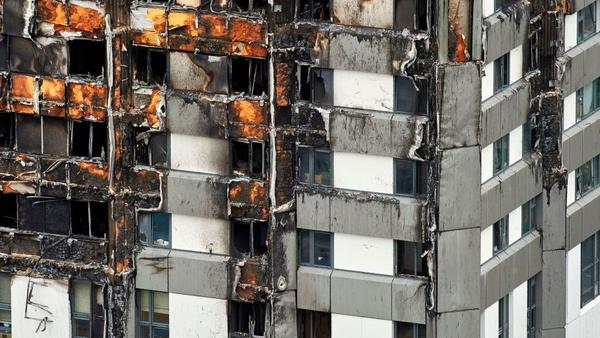 The cladding used in a 2016 refurbishing of Grenfell Tower in London helped last week's fatal fire spread. The combustible material is permitted in some parts of the U.S.