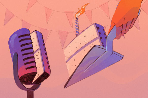 The Code Switch podcast is celebrating its first anniversary.