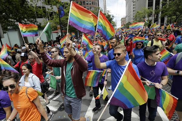 pride Gay public