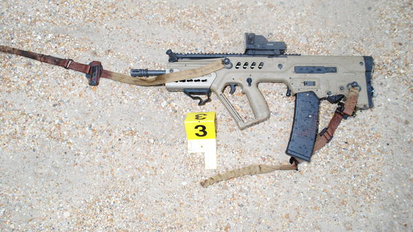 Investigators report that the gunman who killed three Baton Rouge officers last year used this semi-automatic rifle.