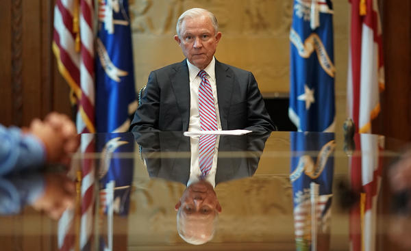 The Justice Department and Attorney General Jeff Sessions are considering a request from county officials in Memphis, Tenn., regarding federal oversight of the juvenile court system there.
