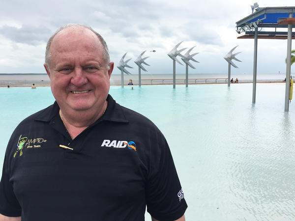 Col McKenzie directs the Association of Marine Park Tourism Operators in Cairns. He says he's bracing for a financial hit.