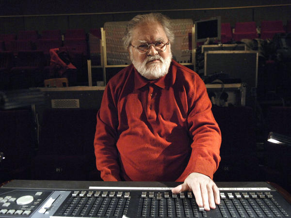 The late composer Pierre Henry, in a 2008 photograph taken in a Paris studio.