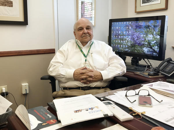 """Rural hospitals have relied on foreign-born doctors who work in underserved towns in exchange for green cards, explains James Dickson, CEO of Bisbee's hospital. But that's changing. """"They cap the number of visas, and we can't get doctors down here,"""" Dickson says."""