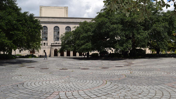 It may look nondescript now, but New Orleans' Congo Square is where the musical foundations of jazz were laid down.