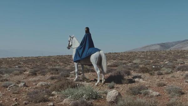 "A still from Mashrou' Leila's ""Roman"" video."