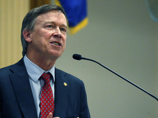 Colorado Gov. John Hickenlooper suggests that governors need to work together on possible solutions to problems like the potential threats posed by artificial intelligence.