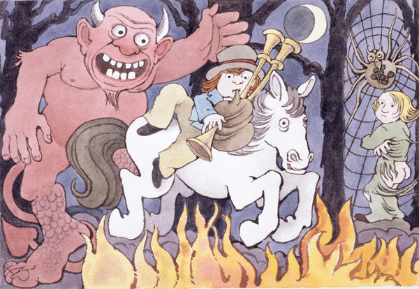 Maurice Sendak wrote and illustrated <em>Where the Wild Things Are</em> and <em>In the Night Kitchen</em>. The illustration above is from <em>Presto and Zesto in Limboland,</em> a book he completed with his friend Arthur Yorinks more than 20 years ago. Sendak died in 2012.
