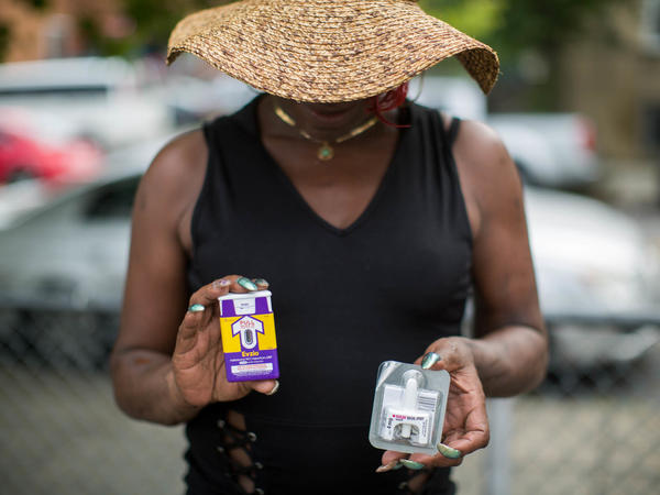 Towson carries two naloxone kits with her at all times and has used them to revive people who overdose. She now trains the public on how to use naloxone.