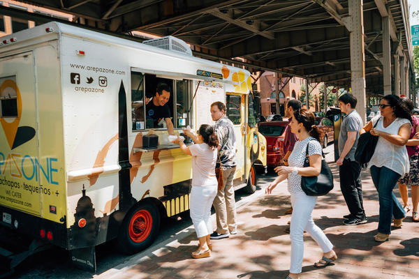 The Arepa Zone was named best food truck in Washington, D.C., two years in a row.