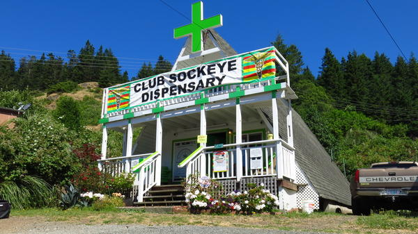 Club Sockeye is a recreational marijuana business located just outside the Gold Beach city limits.