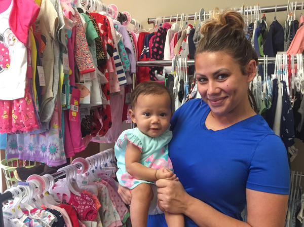 Tara Lang was pregnant with her daughter when her fiance was killed in a motorcycle crash. A pregnancy center in Metairie, La., helped her sign up for Medicaid coverage.