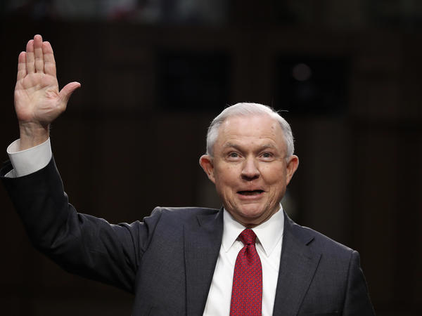 "Attorney General Jeff Sessions testified on Capitol Hill last month that any suggestion that he colluded with Russia to interfere in the U.S. presidential election was an ""appalling and detestable lie."""