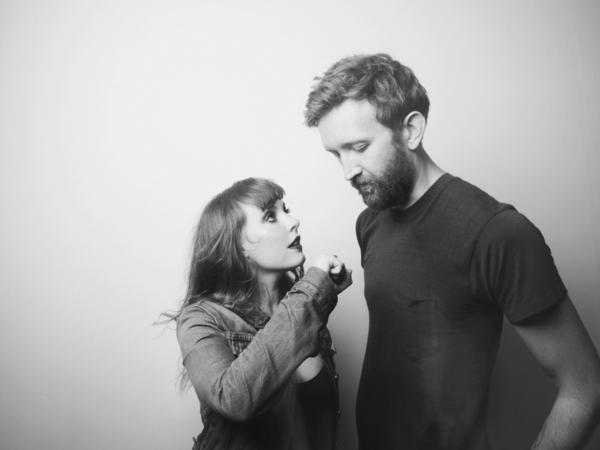 Amelia Meath and Nick Sanborn of Sylvan Esso.